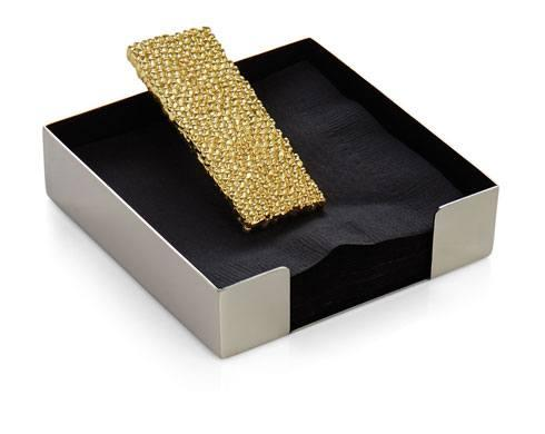 Michael Aram  Molten Gold Cocktail Napkin Holder $65.00