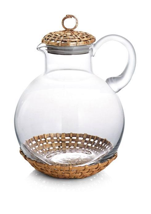 Michael Aram  Palm Pitcher W/Coaster $250.00