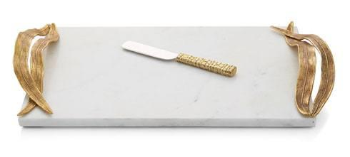 Michael Aram  Palm Cheeseboard W/Knife $200.00