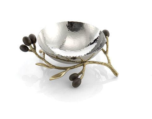 Michael Aram  Olive Branch Gold Nut Dish $100.00