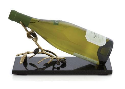 Michael Aram  Olive Branch Gold Wine Rest $125.00