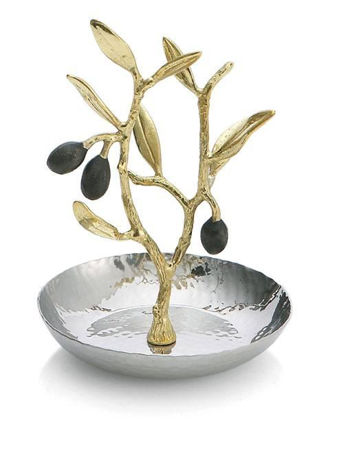 Michael Aram  Olive Branch Gold Ring Catch $70.00