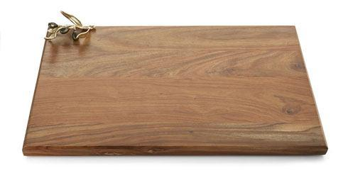 Michael Aram  Olive Branch Gold Oversized Wood Serving Board $165.00