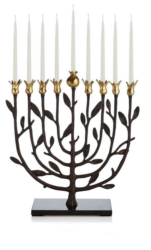 Michael Aram  Pomegranate Kosher Menorah $170.00