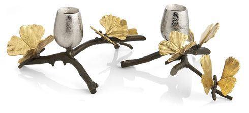 Michael Aram  Butterfly Ginkgo Candleholders $290.00