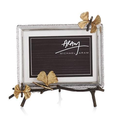 Michael Aram  Butterfly Ginkgo Easel Frame $165.00