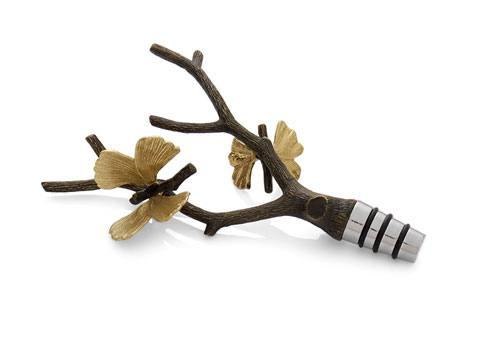 Michael Aram  Butterfly Ginkgo Wine Stopper $60.00
