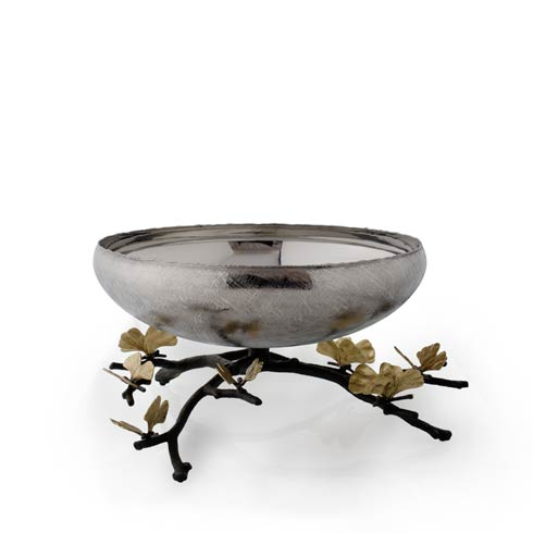 Michael Aram  Butterfly Ginkgo Footed Centerpiece Bowl $750.00