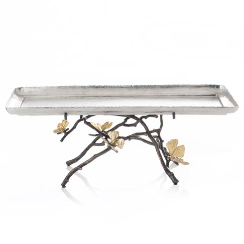 $852.00 Footed Centerpiece Tray