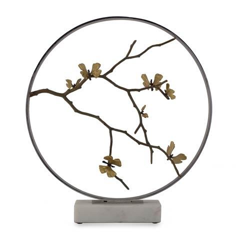 """$1,500.00 Butterfly Ginkgo 22"""" Moon Gate Sculpture"""