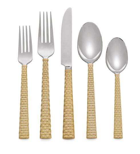 Michael Aram  Palm Gold 5-Piece Flatware Set $110.00