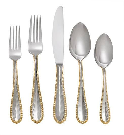 Michael Aram  Molten Gold 5-Piece Flatware Set $100.00