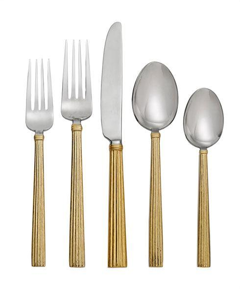 Michael Aram  Wheat Gold 5-Piece Flatware Set $110.00