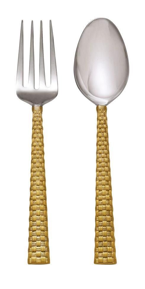 Michael Aram  Palm Gold Serving Set $75.00