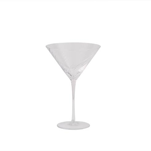 $45.00 Diamond Martini Glass
