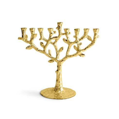 $160.00 Menorah Gold