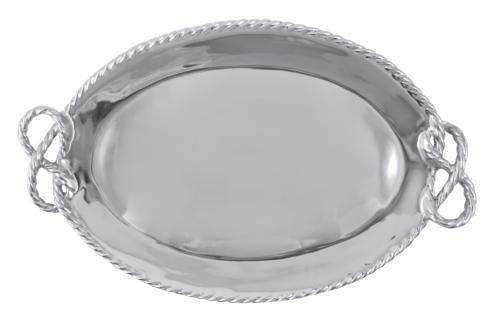$129.00 Rope Oval Serving Tray