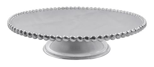 Mariposa Table Accessories String of Pearls Pearled Cake Stand $159.00