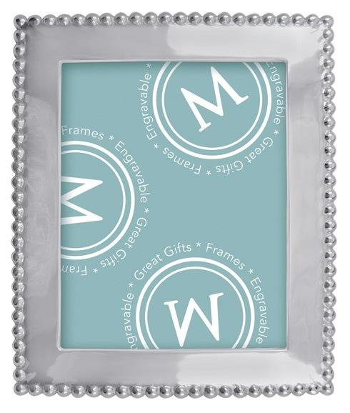 Mariposa Photo Frames String of Pearls Pearled 8 X 10 Frame $98.00