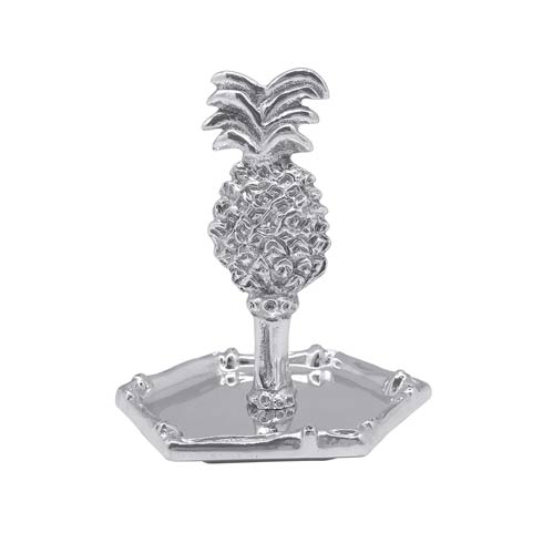 $39.00 Pineapple Bamboo Ring Dish