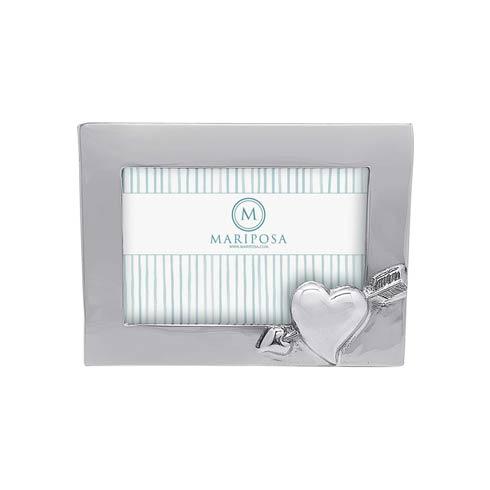 $59.00 Cupid Heart & Arrow 4x6 Frame