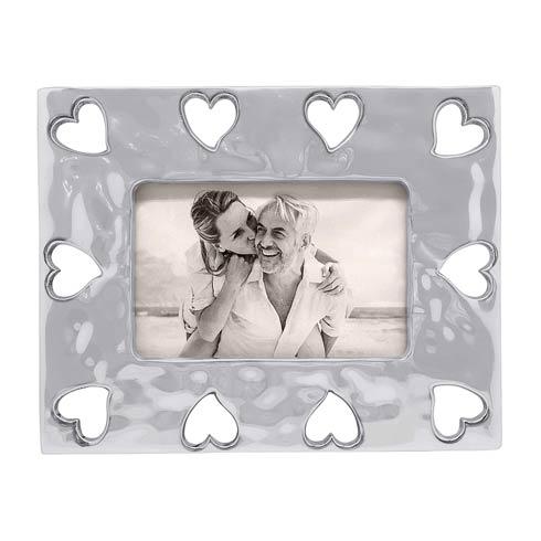 $74.00 Open Heart Border 4x6 Frame