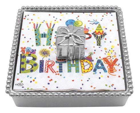 Birthday Present Beaded Nap Box image