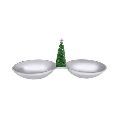 $69.00 Green Tree Double Nut Dish