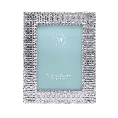 Mariposa  Decorative Frames Basketweave 4x6 Frame $54.00