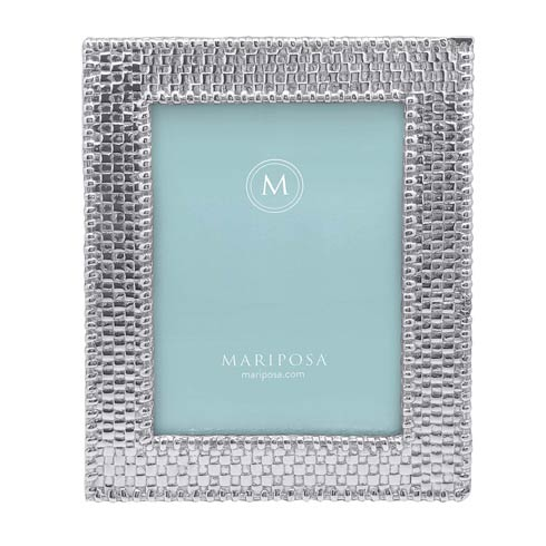 Mariposa  Decorative Frames Basketweave 5x7 Frame $74.00