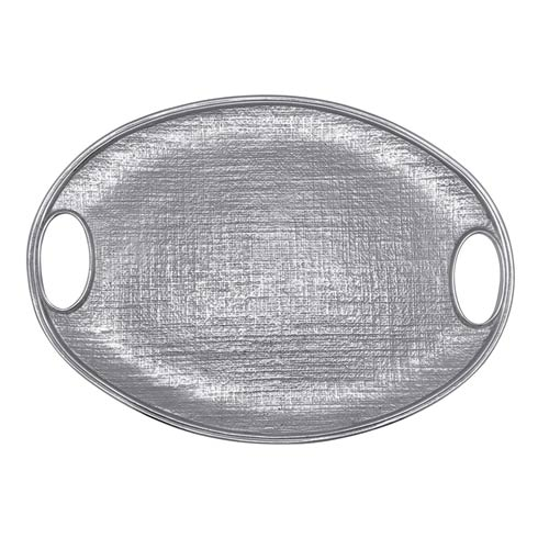 $179.00 Linen Oval Tray