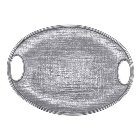 $179.00 Linen Oval Tray
