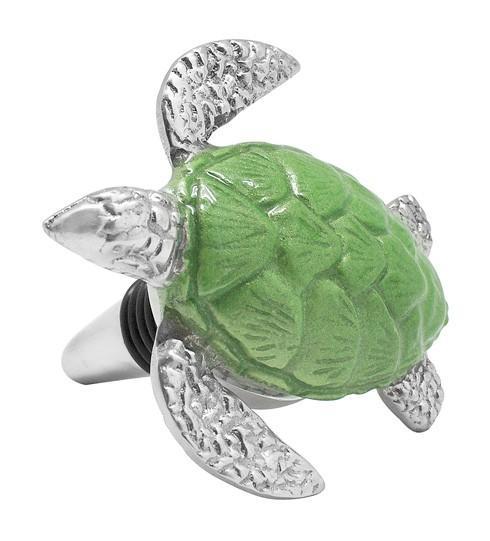 $28.00 Green Turtle Bottle Stopper