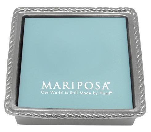 $39.00 Rope Napkin Box With Insert