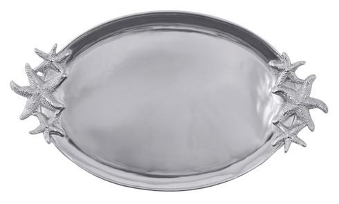 $139.00 Starfish Handled Oval Platter