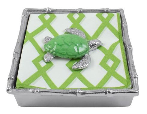$49.00 Green Sea Turtle Bamboo Napkin