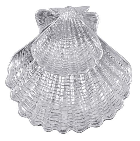 $159.00 Scallop Shell 2-Piece Chip &