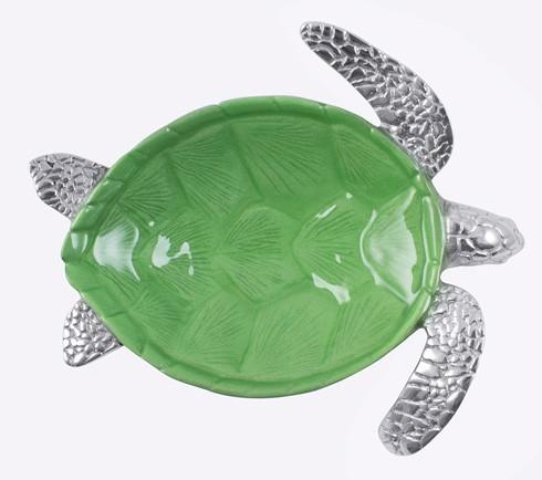 $54.00 Green Sea Turtle Dip Dish