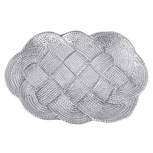 $198.00 Nautical Knot Rope Oval Centerpiece