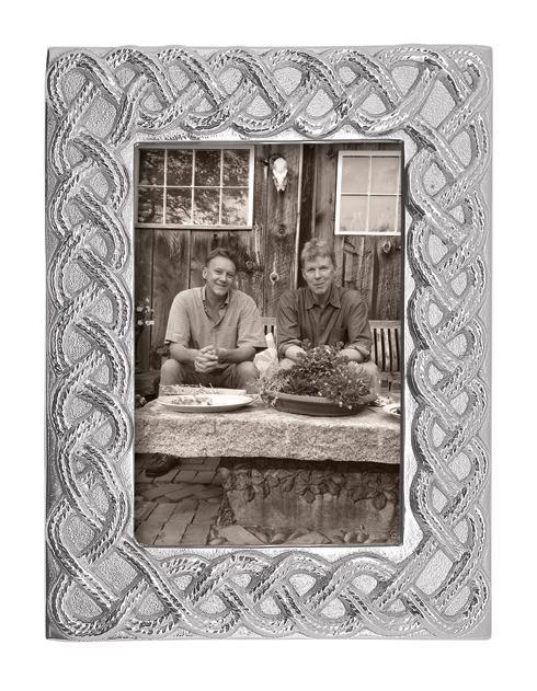 Mariposa  Decorative Frames Open Braid 4X6 Frame $74.00