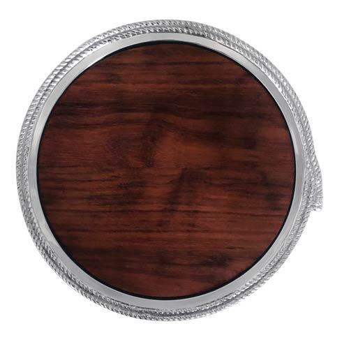 $149.00 Rope Round Cheese Board with Dark Wood Insert