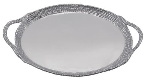 Mariposa  High Seas Rope Oval Cocktail Tray $179.00
