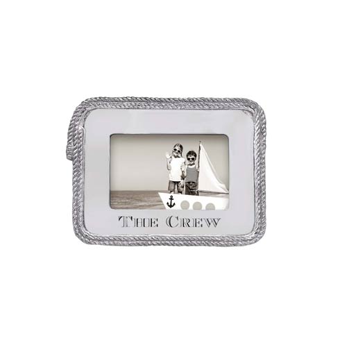 $79.00 The Crew Rope Statement 4x6 Frame
