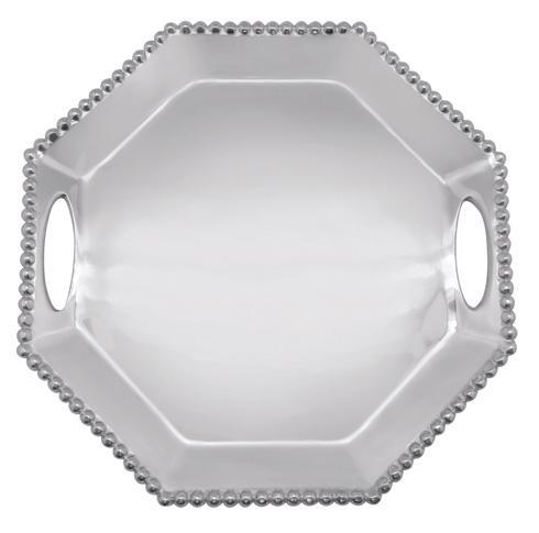 $139.00 Pearled Octagonal Tray