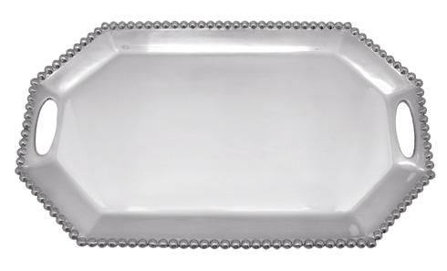 Mariposa Serving Trays and More String of Pearls Pearled Long Rect. Octagonal $169.00