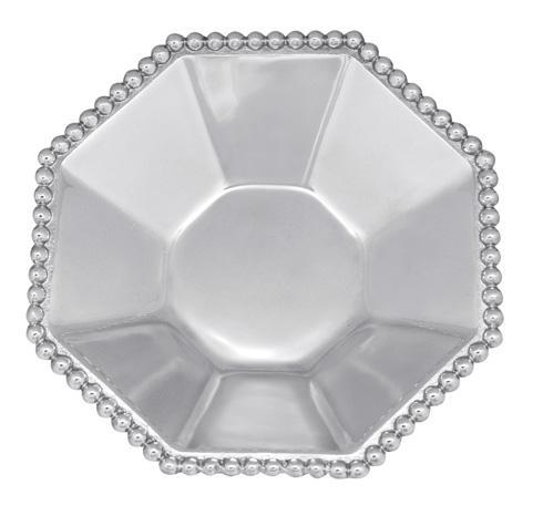 Mariposa Bowls String of Pearls Pearled Indiv. Octagonal Bowl $59.00