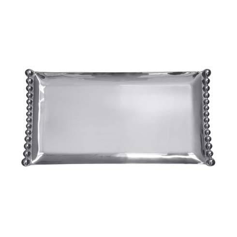 $148.00 Pearled Flanked Large Tray