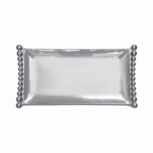 $98.00 Pearled Flanked Tray