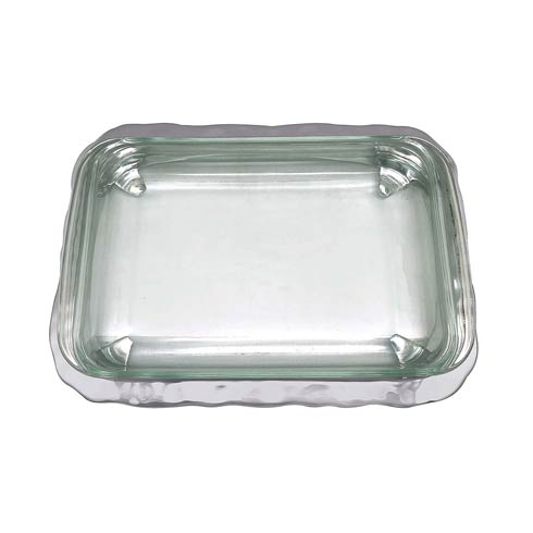 Mariposa Serving Trays and More Shimmer Oblong Casserole Caddy $149.00