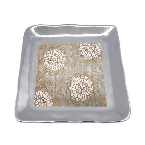 $36.40 Block Print Small Square Plate